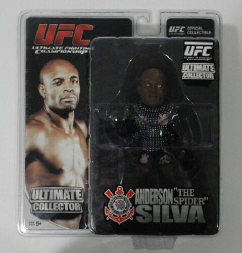 "UFC ROUND 5 ANDERSON SILVA /""THE SPIDER/"" CORINTHIANS BRAZIL EXCLUSIVE EDITION"