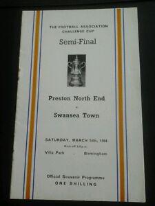 1964 FA Cup semi Preston v Swansea at Villa Park - Cleveland, United Kingdom - 1964 FA Cup semi Preston v Swansea at Villa Park - Cleveland, United Kingdom
