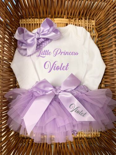 birthday any occasion frilly bloomers//tutu sets Lilac Easter Father's  Day