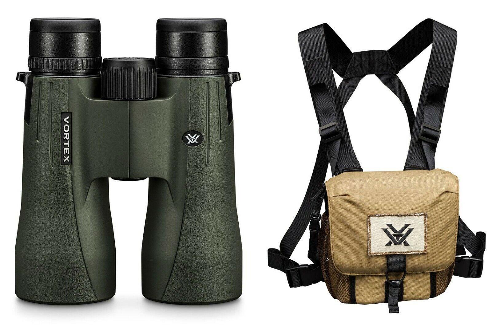 Vortex Optics NUEVO Viper HD Binocular 12x50 Con Estuche Vortex GlassPak Arnés