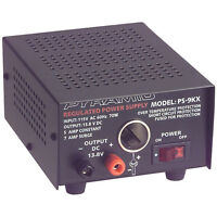 Pyramid Ps9kx Power Supply 13.8 Vdc 5a on sale