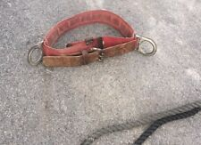 Vintage Linemans Climbing Belt With Lanyard
