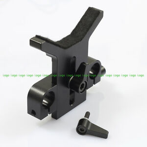Long Lens Support Rod Clamp fr DSLR Rigs 15mm Rail System Follow Focus Camera DV