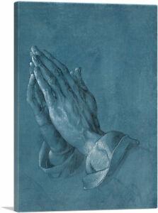 ARTCANVAS-Praying-Hands-1508-Canvas-Art-Print-by-Albrecht-Durer