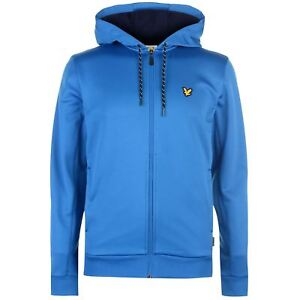 Lyle-amp-Scott-Deportes-Hill-Full-Zip-chaqueta-con-capucha-azul-cobalto-2XL-16