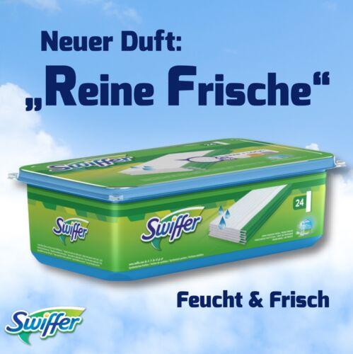 """24 Stück Swiffer Wet Feuchte Boden Wischtücher Duft /""""Reine Frische/"""" Nachfüller"""