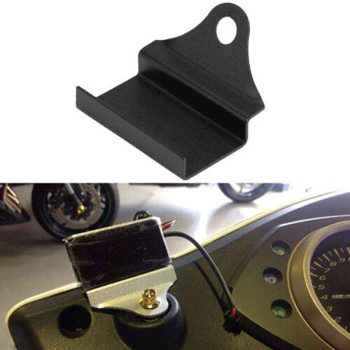 Motorrad Instrumente Halterung Schwarz für Rechteckig Temperaturanzeige Spannung
