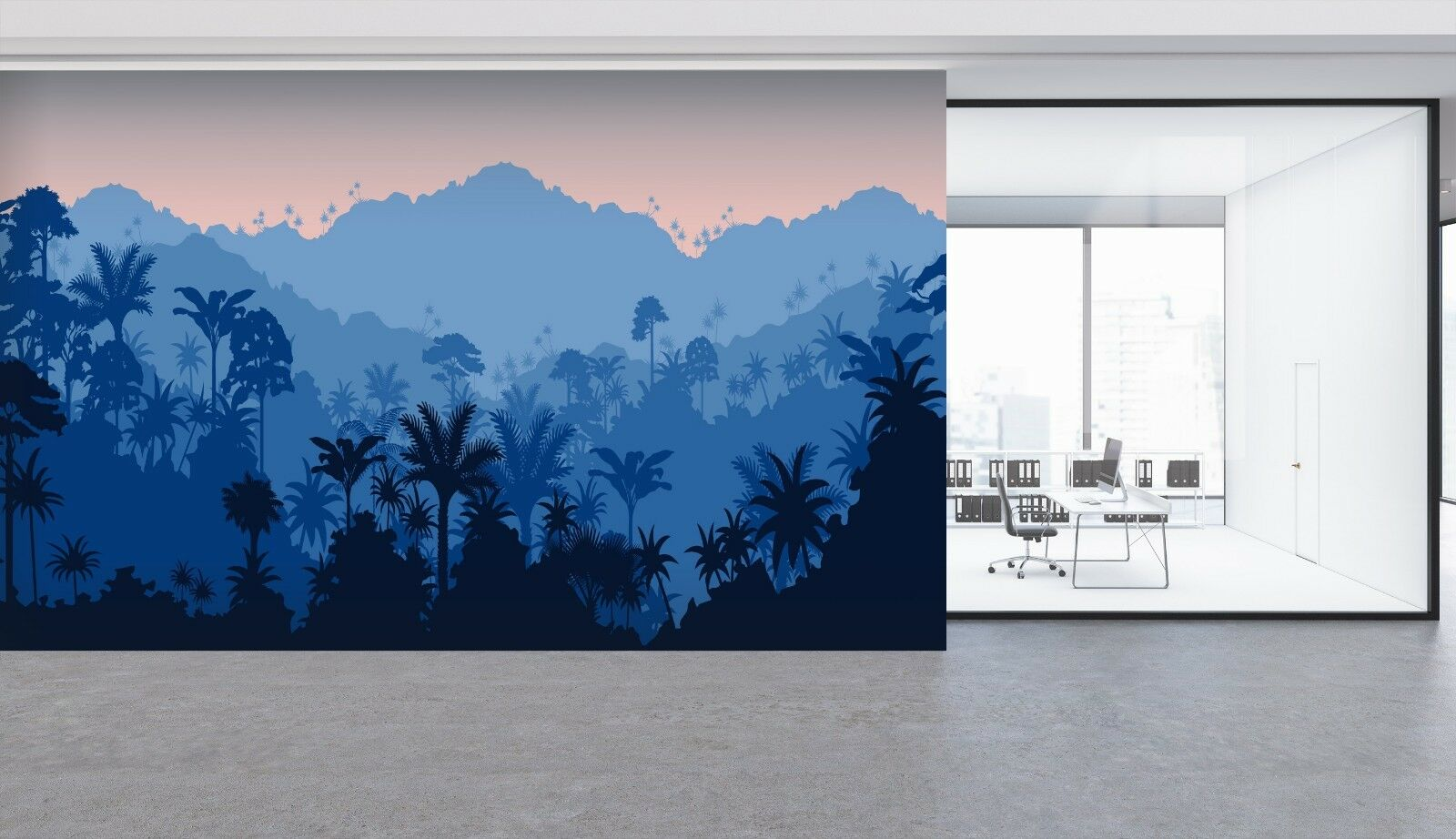 3D Forest Shadow 722 Texture Tiles Marble Wall Paper Decal Wallpaper Mural AJ
