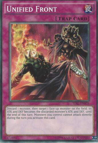 UNITED FRONT TDIL-EN078 YU-GI-OH CARD