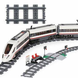 18pcs-Train-droite-piste-Railroad-Rail-Sans-Alimentation-Accessoires-pour-LEGO