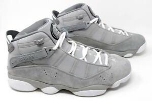 5f2dd2b536e707 Jordan 6 RINGS mens fashion-322992-014 11.5 - Matte Silver White ...