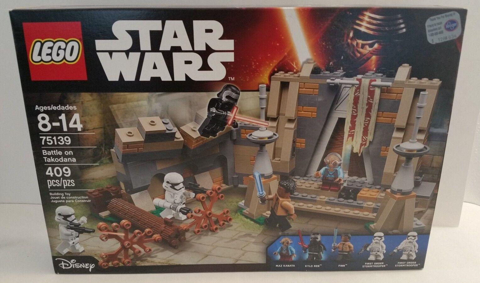 LEGO Star Wars Battle on Takodana, 75139, New Sealed Sealed Sealed Box RETIRED b48ea5