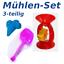 Sandspielzeug-Eimergarnitur-Eimer-Sieb-Kanne-Muehle-XXL-Set-Grosse-Auswahl-EU-WARE Indexbild 2