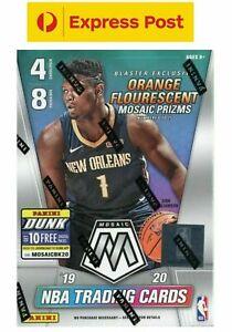 Mosaic-Panini-2019-2020-NBA-Basketball-Cards-Sealed-Blaster-Box-ZION-Luka-Tatum