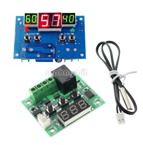 9-110°C  W1209//W1401 DC 12V Red LED Digital Thermostat Temperature Controller