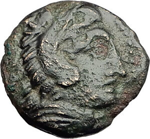 ALEXANDER-III-the-Great-325BC-Macedonia-Ancient-Greek-Coin-HERCULES-CLUB-i62327
