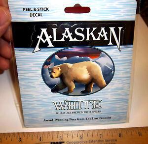 Alaska-Brewing-Co-Alaska-White-Wheat-Ale-Peel-amp-Stick-Decal-sticker