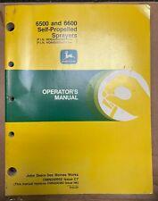John Deere 6500 Amp 6600 Self Propelled Sprayer Operator Manual Omn200552 C7 R 6
