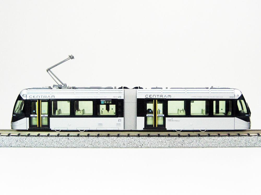 Kato 148022 N centram LRV 9000 TRAM STeARD DC, argentoo