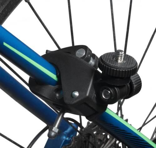 Tubo de bicicleta borna soporte manillar soporte marco f GoPro Hero 5//Hero 5 session