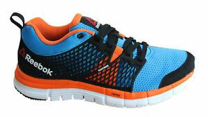 Humedad lealtad Galantería  Reebok ZQuick Dash Lace Up Multi Textile Mesh Junior Running Trainers  M47880Y13A   eBay