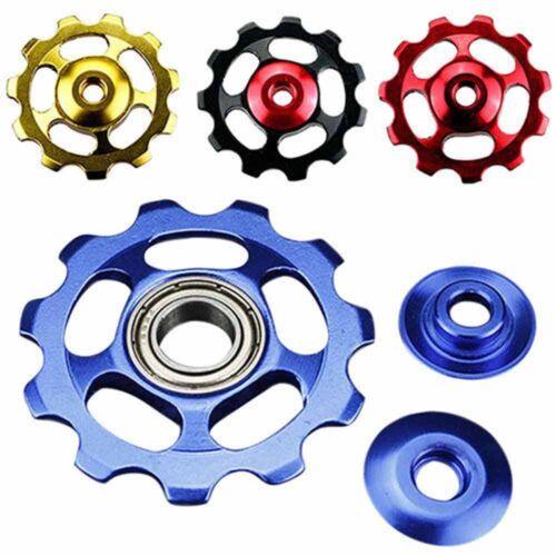 Aluminium Bicycle Jockey Wheel Rear Derailleur Bike w// 11T Gear Guide Pulley CT