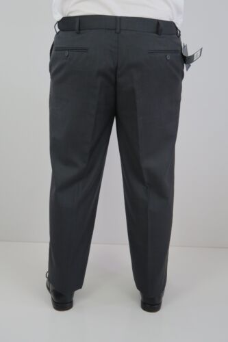 X Factor Mens Business Dress Formal Pants Trousers sizes 102R 107S Charcoal