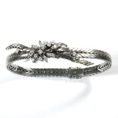 Diamant Armband in Weißgold mit 0,74 ct Brillanten 585 Diamond Bracelet