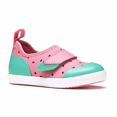 Muck Kids/' Summer Solstice Waterproof Neoprene Shoes Pink Watermelon