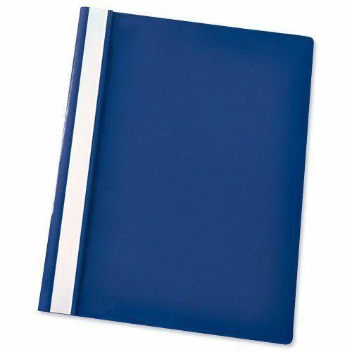 Blue Project File 5 Star A4 Presentation Project Folder 2-bar prong mechanism