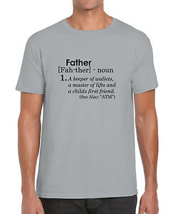 db30f06d Image is loading Father-Definition-Dad-Fathers-Day-Gift-Funny-Graphic-