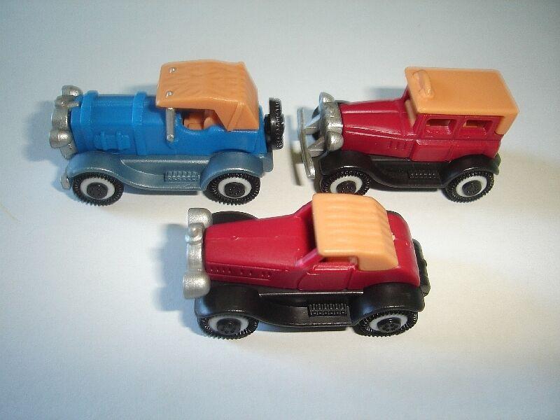 5 juegos de Rolls-Royce Vintage Modelo Coches Set 1 87 H0 + 1 Juego de variación