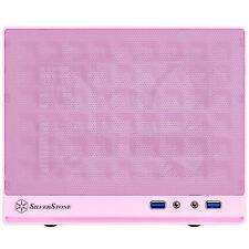 Silverstone SG13P (Pink, Mesh Panel) Mini-DTX/Mini-ITX Sugo Series SFF Case