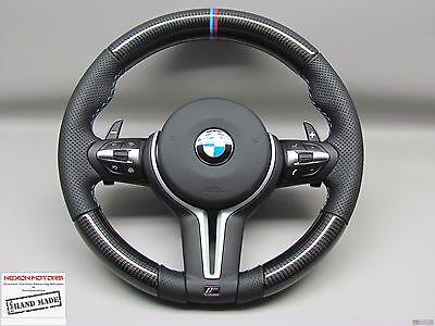 BMW M3 M4 M5 F15 X5M X6M F30 F32 3M Ring 3M Stitch THICK CARBON Steering WHEEL