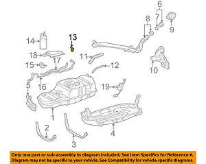 toyota oem 01 04 sequoia 4 7l v8 fuel system cut off valve rh ebay com Dodge 4.7L V8 Engine 4.7 Dodge Engine