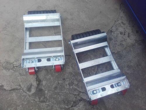 Abschlepp Rollwagen R6L  Rangierhilfe Transportschale    Auto Rangierroller R6R