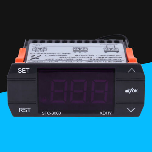 STC-3000 110V-220V 10A//30A Touch Digital Temperature Controller Thermostat GL