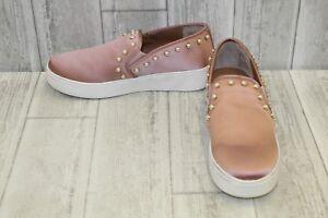 206591cd59d Image is loading Steve-Madden-Garcelle-Satin-Slip-On-Fashion-Sneakers-