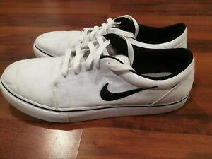 Nike-SB-Satire-II-2-555380-101-White-Mens-Athletic-Skateboarding-Shoes-Size-10-5