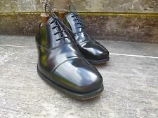 BARKER OXFORD – BLACK  –  UK 8.5 – WORN ONCE - GOOD FOR CHURCH