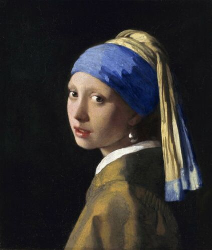 Girl with a Pearl Earring by Johannes Vermeer Canvas Print in various sizes