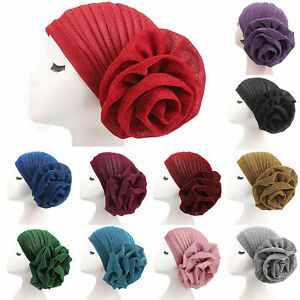 Women-Hair-Loss-Wrap-Cancer-Chemo-Cap-Muslim-Turban-Hat-Hijab-Beanie-Head-Scarf
