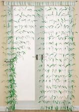 Bambú efecto Verano Cadena Cortina De Decoración Para Puertas Y Ventanas ~ 90 X 200 Cm