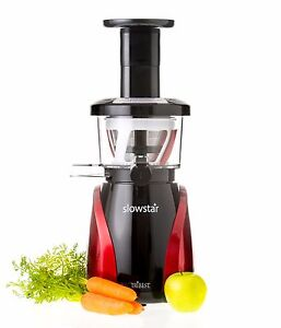 Details about Tribest Slowstar Vertical Slow Juicer in Red