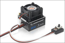 Hobbywing Xerun XR10 Justock Brushless ESC w/fan Black (30112000)