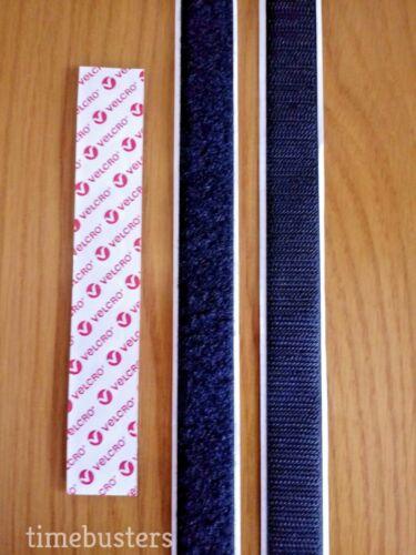 Velcro 1 m crochet et 1 m Loop bâton sur bande//bande 25 Mm Auto Adhésif Fermeture PS14