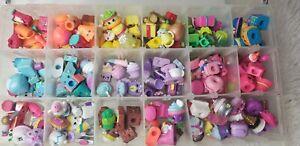 Shopkins Random Lot of 12 Season 1 2 3 4 5 6 7 8 9 No Duplicates /& Bag