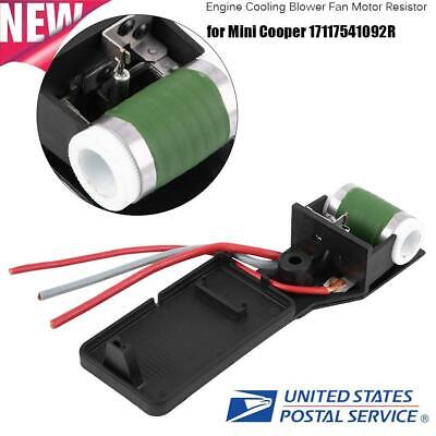 Engine Cooling Blower Fan Motor Resistor Fit for Mini Cooper 17117541092R US