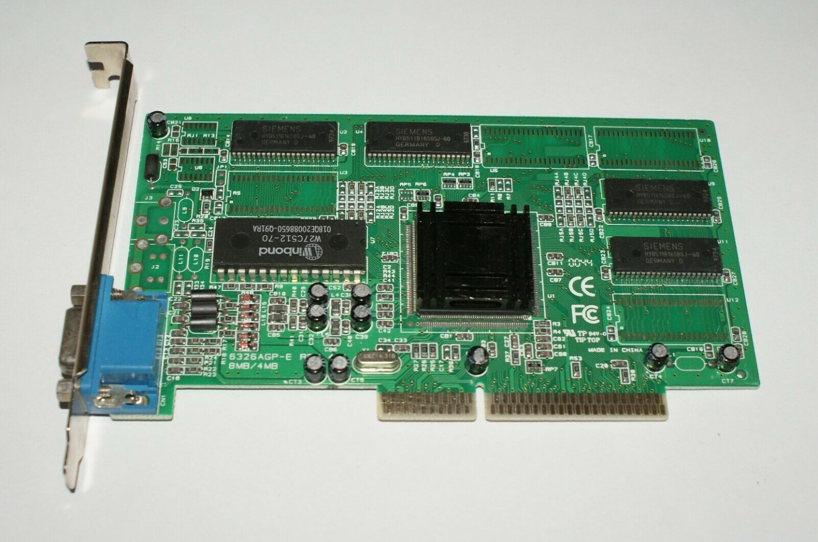 SIS 6326 8mb AGP Winbond graphics Card