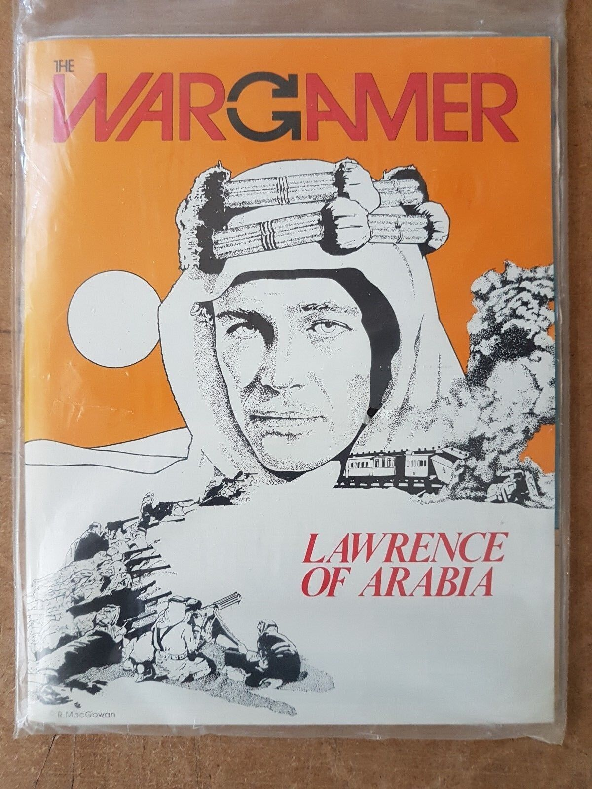 THE WARGAMER NUMBER 24 - LAWRENCE OF ARABIA - GAME UNPUNCHED